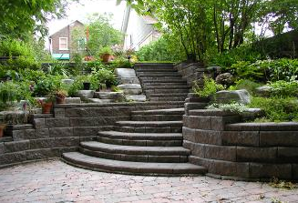 Do you have a corner of your yard that you just can't use because of the grade slope? Call us.