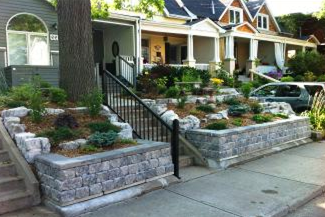 Even the most difficult slopes can be tamed with a proper retaining wall installation.