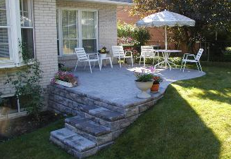 Tough slopes? No problem! We can help you regain your yard space.
