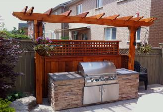 Small backyard? We can design an attractive, functional layout that your family will enjoy.